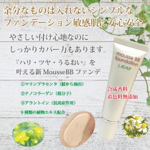 肌に優しい化粧品 BBファンデーション