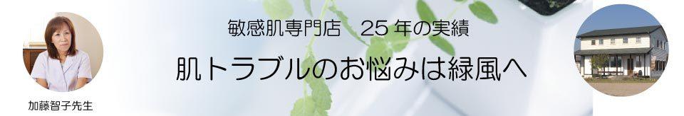 敏感肌専門加藤智子先生
